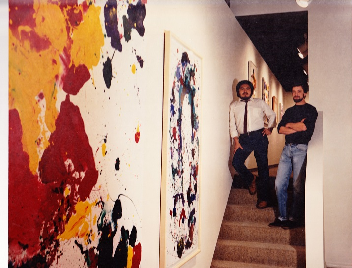 JOSE LUIS RODRIGUEZ AND DAVID AIRHART CO-FOUNDERS OF ART ATTACK GALLERY